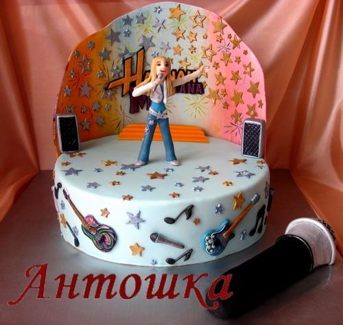 Торт караоке фото