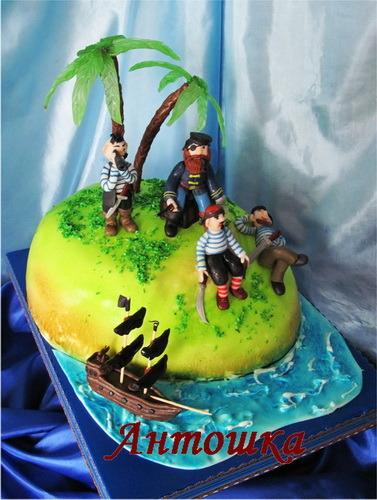 Пиратский торт рецепт