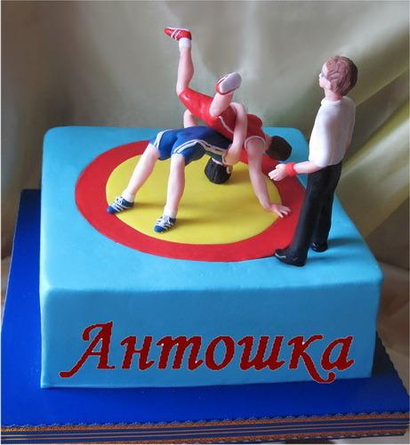 торт вольной борьбы фото